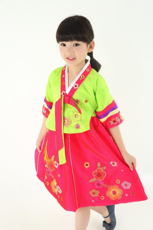 Traditional Korean Costumes for kids 5