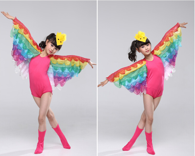 Bird Butterfly Costume for Kids 16