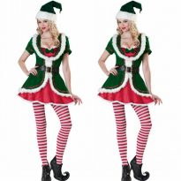 Poison ivy Elf Costumes for Kid 7