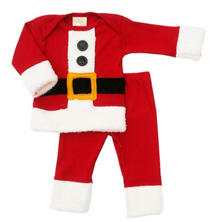 2017 New Baby Christmas Costume for kids 12