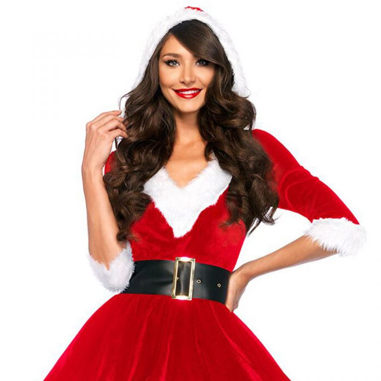 Newest Red Christmas Sexy Costumes 8