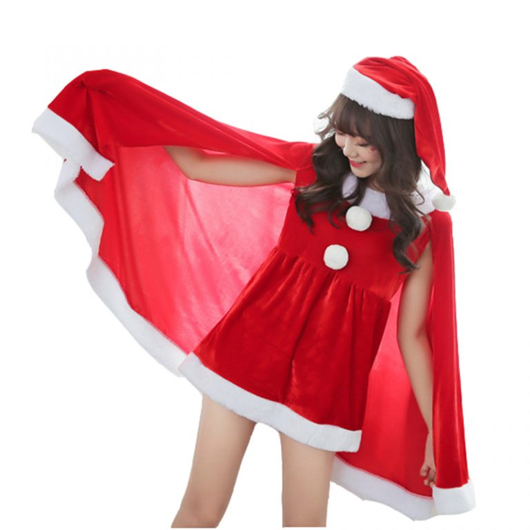 Christmas Red Costume for Women 2