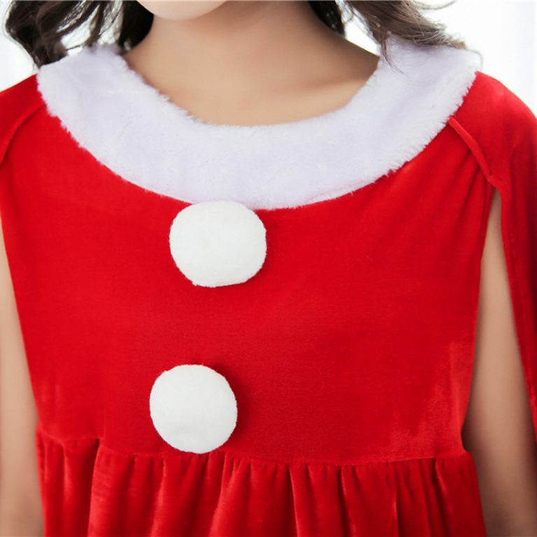 Christmas Red Costume for Women 6