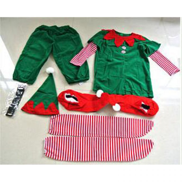 Elf Christmas Costume for Boy Man and Kid 2