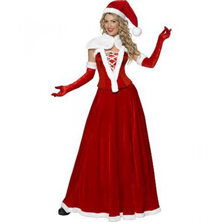 Santa Claus Christmas Sexy Costumes for Women 1
