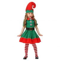 Child Elf Costume Suit for Christmas 4