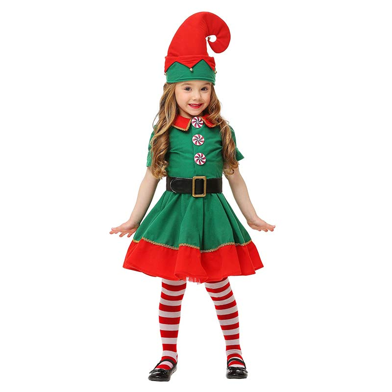 Toddler's Cute Elf Costume for Girl 1