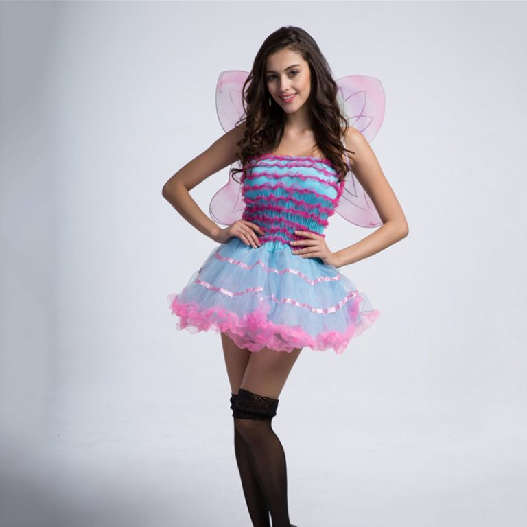 Butterfly Cute Costume With Wing for Women 3