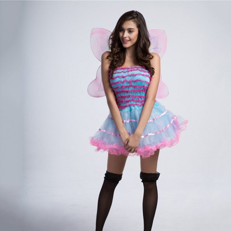 Butterfly Cute Costume With Wing for Women 4
