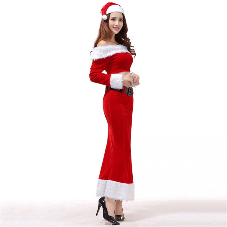 Christmas Costume with  Two-Piece for Woman 4