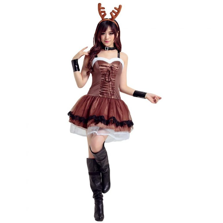 Women's Santa Reindeer Costume for Lovely Girls 18