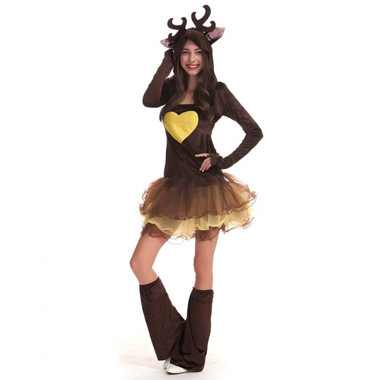 animal reindeer sexy costume for women 8 - Christmas Costume