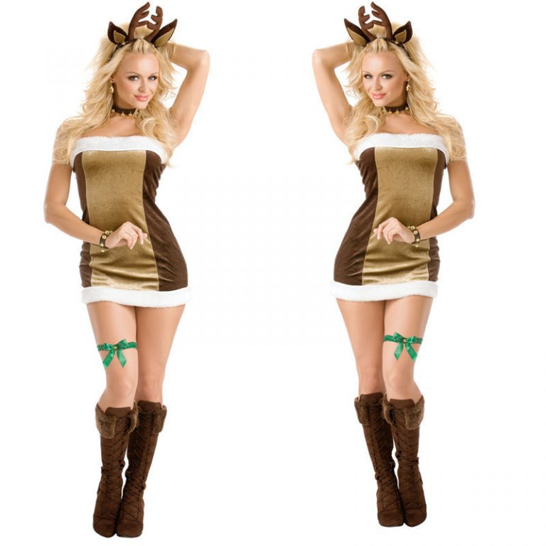 Sexy Reindeer Costume for Christmas 1