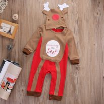 Baby Clothes Reindeer Costume Outfits With Hat 11