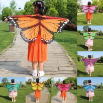 Butterfly Flower Fairy Cosplay Costumes for Girls 8