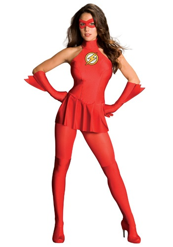 Flash Superhero Costume for Girls 2