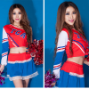 Cheerleader Costume Sleeveless Mini Dress 17