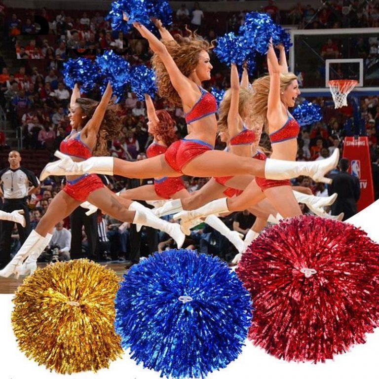 Cheering Fancy Pom Poms 1
