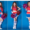 Cheerleader Costume Sleeveless Mini Dress 16