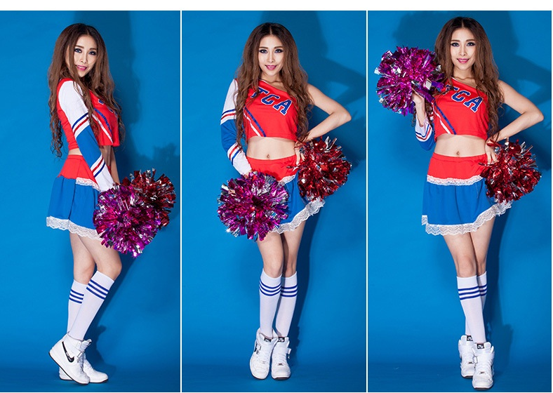 Cheerleader Costume Sleeveless Mini Dress 7