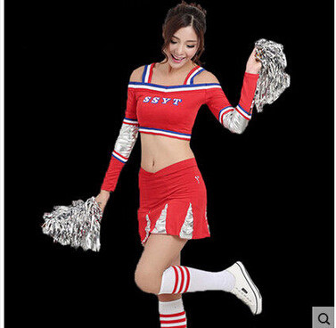 Cheerleader Costume Sleeveless Mini Dress 3