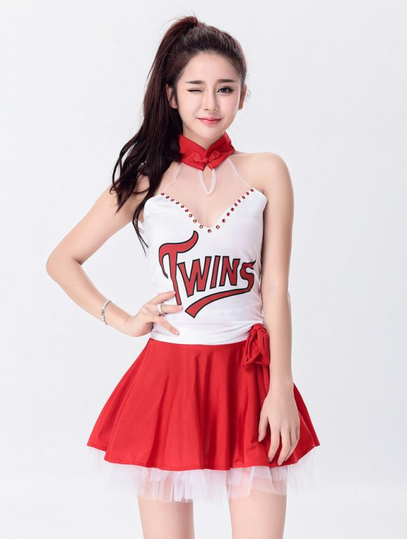 Sexy Cheerleader Costume for Lady 8