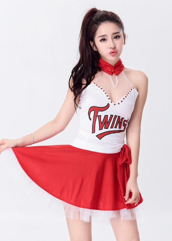 Sexy Cheerleader Costume for Lady 9