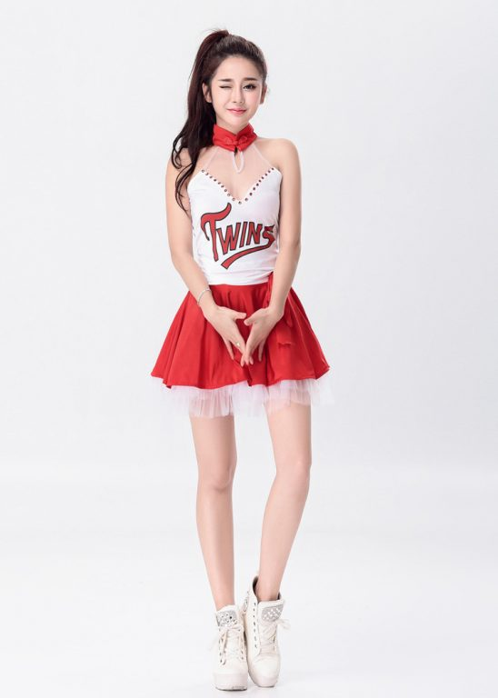 Sexy Cheerleader Costume for Lady 2