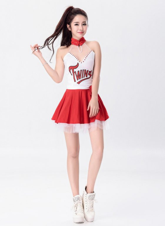 Sexy Cheerleader Costume for Lady 7