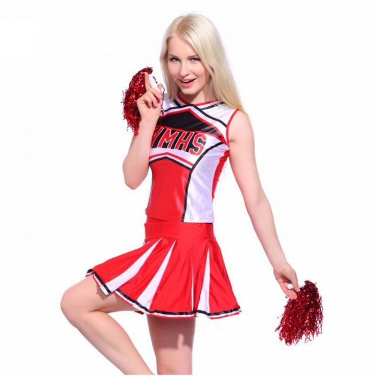 New-Baseball-Cheerleading-Glee-Cheerleader-Costume-Aerobics-Clothing-Uniforms-for-Performances-Halloween-Fancy-Dress-Size-S-2