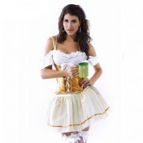YIZEKOAR-New-2017-Fashionable-Off-the-shoulder-Sleeves-Oktoberfest-Beer-Girl-Costume-LC8558-Cheaper-price-Fast