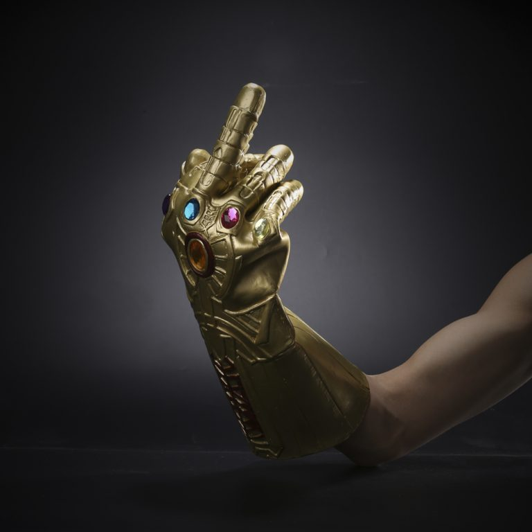 The Avengers Thanos Gauntlet Gloves 2
