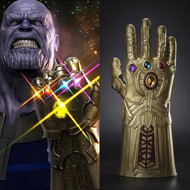 The Avengers Thanos Gauntlet Gloves 1