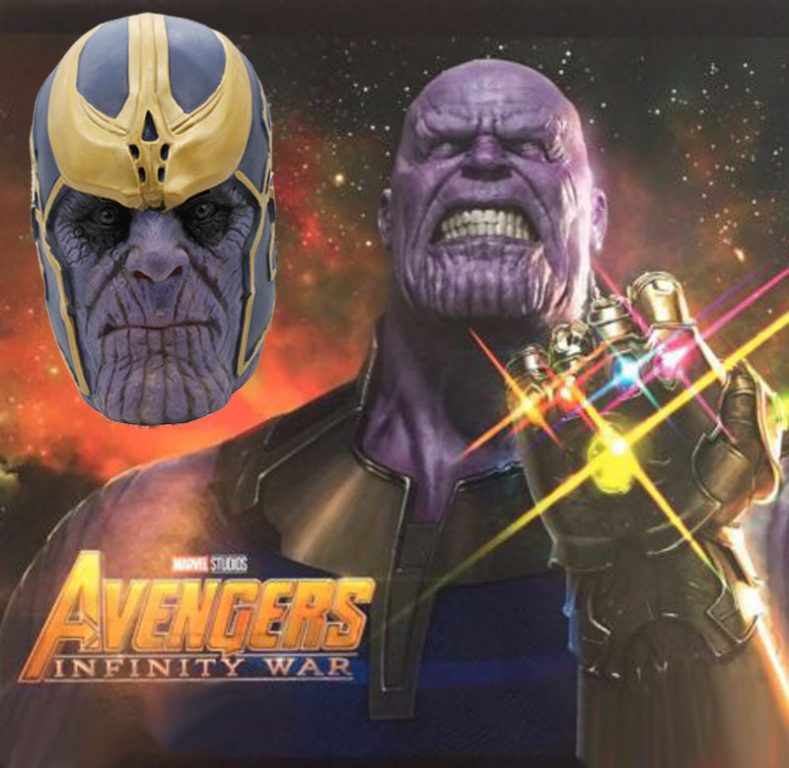Avengers: Infinity War  Thanos Mask  Costume 1