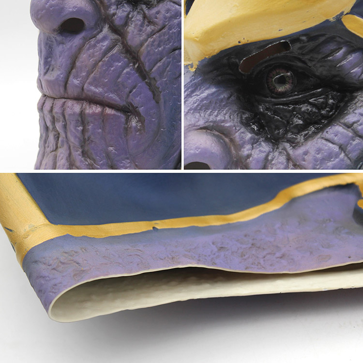 Avengers: Infinity War  Thanos Mask  Costume 9