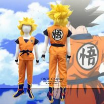 Anime Kids And Goku Costumes 11