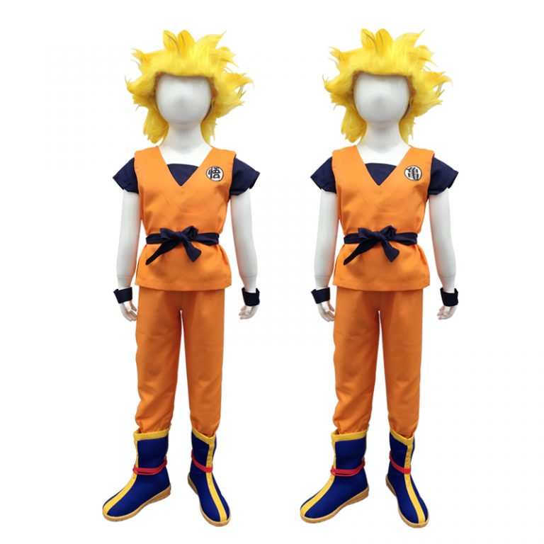 Goku Costume for Kids 15