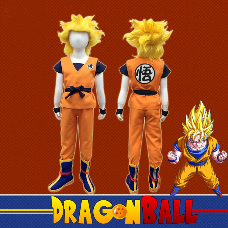 Dragon Ball Z Costume for kids 18