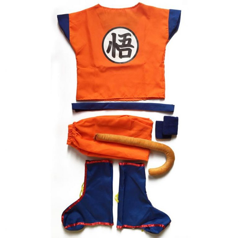 Anime Kids And Goku Costumes 2