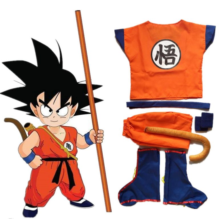 Anime Kids And Goku Costumes 1