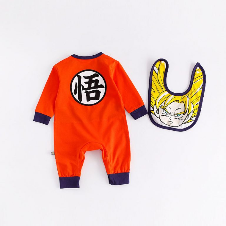 Dragon Ball Z Baby Rompers Costumes 2