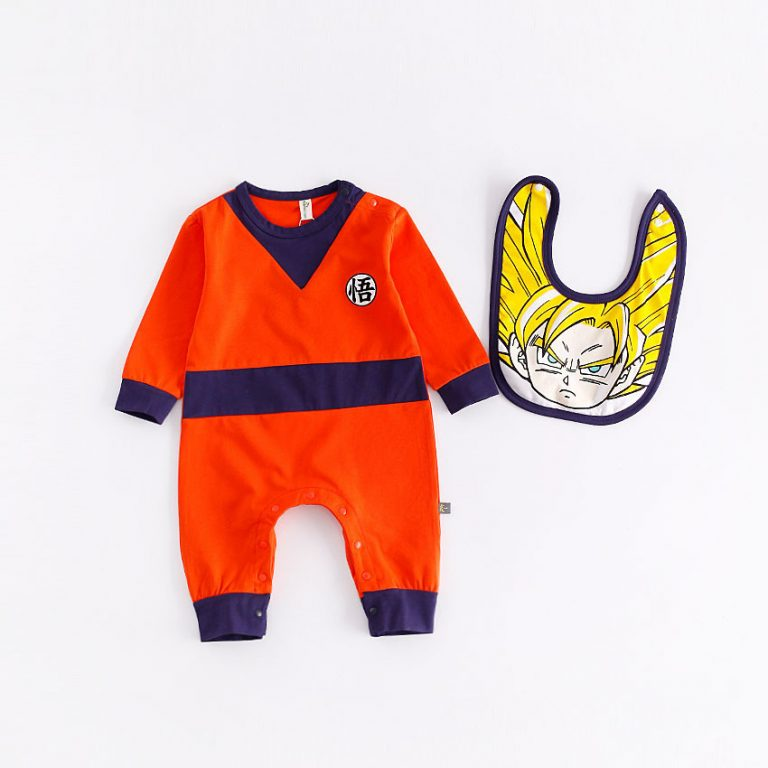 Dragon Ball Z Baby Rompers Costumes 25