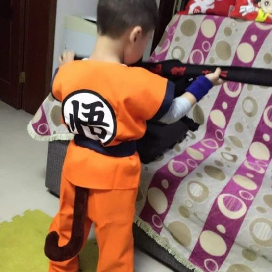 Goku Children's Costumes 4