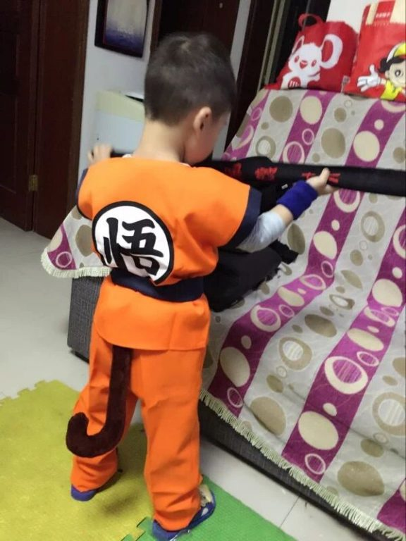 Goku Children's Costumes 2