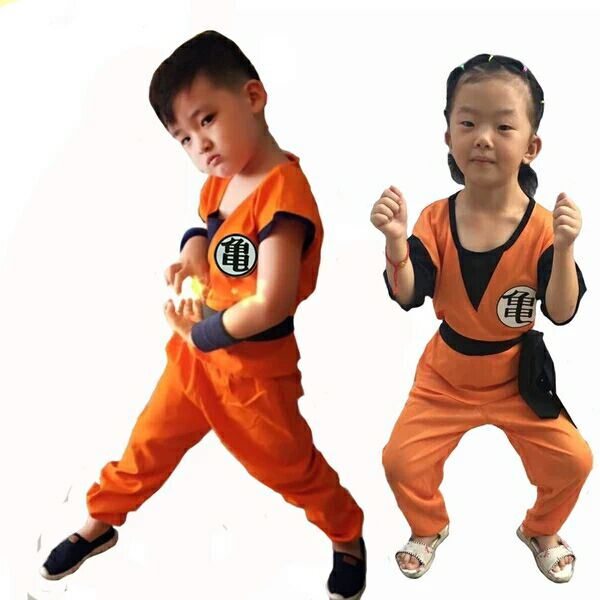 Goku Children's Costumes 3