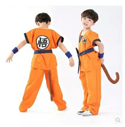 Goku Children's Costumes 1