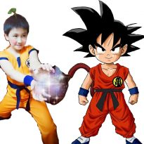 Goku Children's Costumes 6