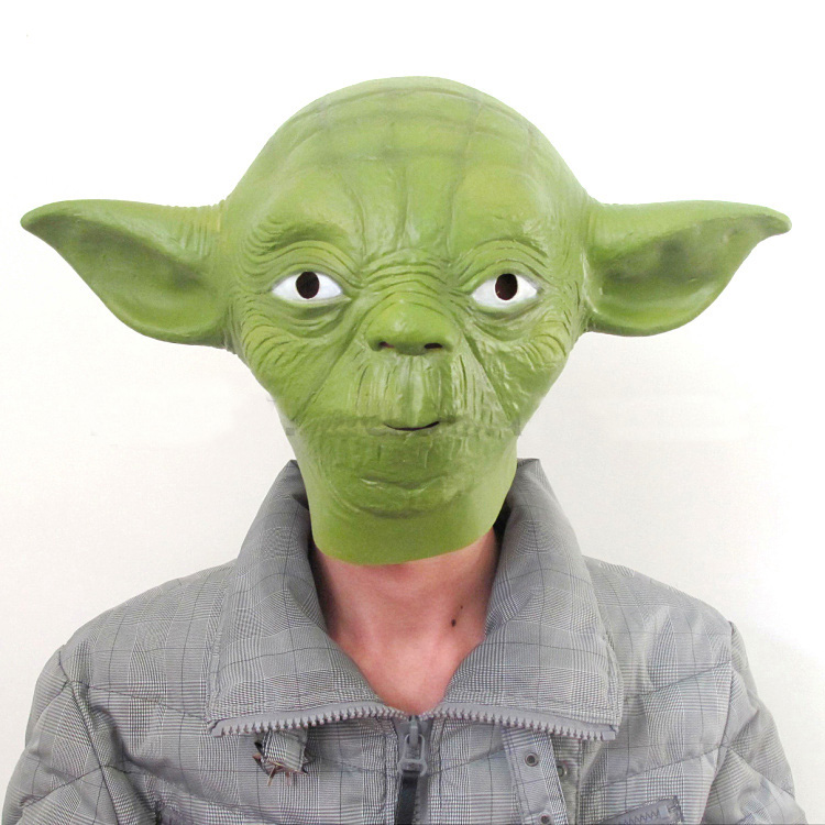 Master Yoda Cosplay Mask Full Head 2