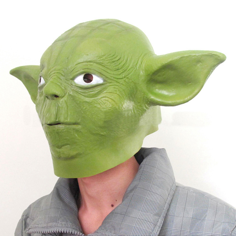 Master Yoda Cosplay Mask Full Head 3