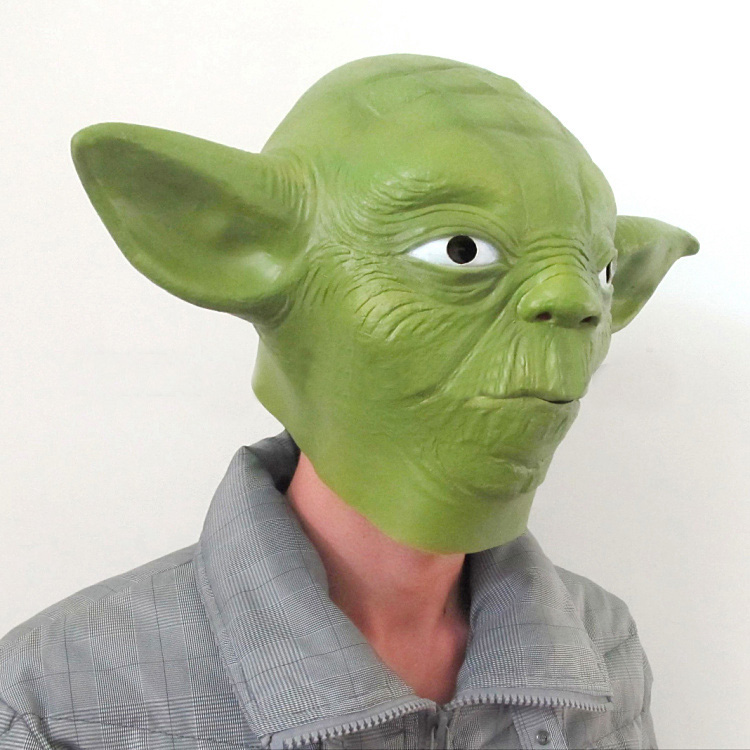 Master Yoda Cosplay Mask Full Head 4